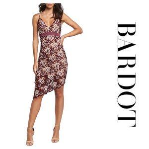 Bardot Dalia Asymmetrical Lace Dress